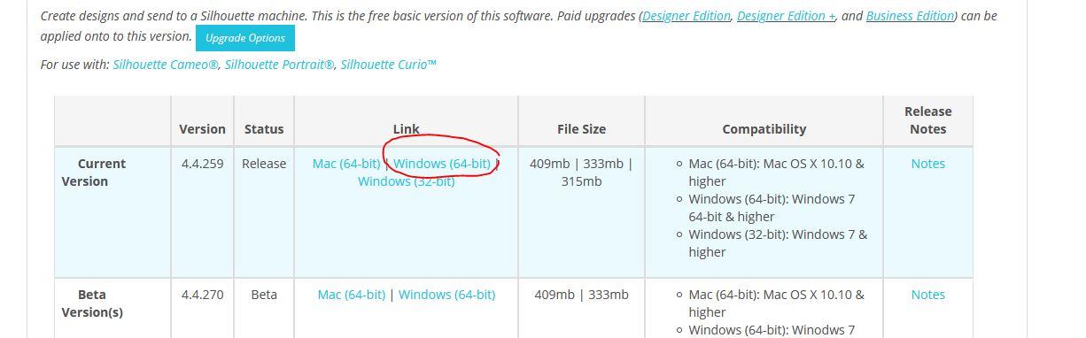 Problème concernant le logiciel Silhouette Studio Captur41