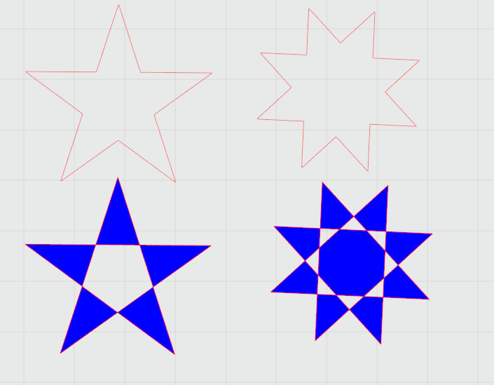 réapprendre à utiliser Silhouette studio : étoiles et matériaux prédéfinis Captur47