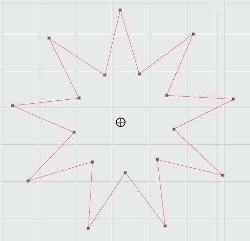 réapprendre à utiliser Silhouette studio : étoiles et matériaux prédéfinis Captur51