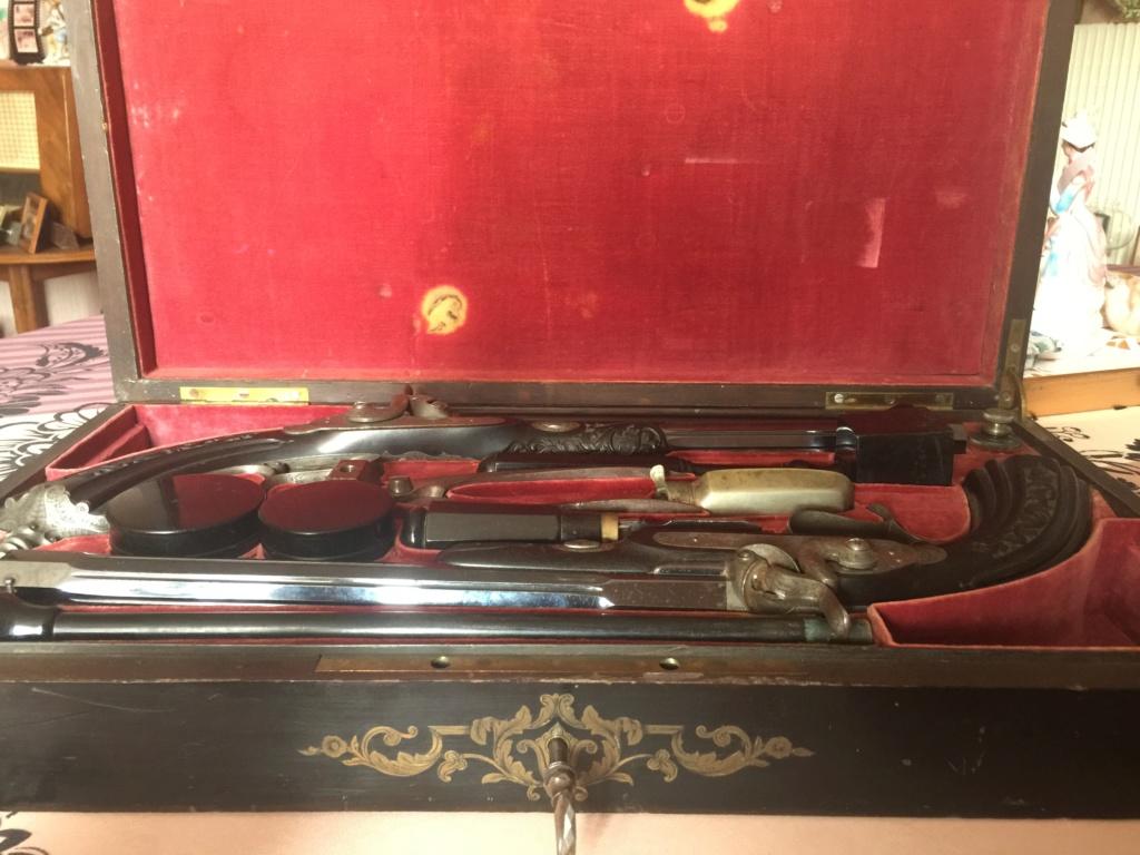 Coffret pistolets de duel Ced28910