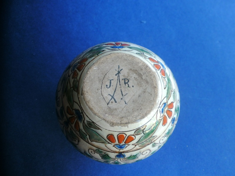ID help please? Continental tin glazed vase  Pict0718