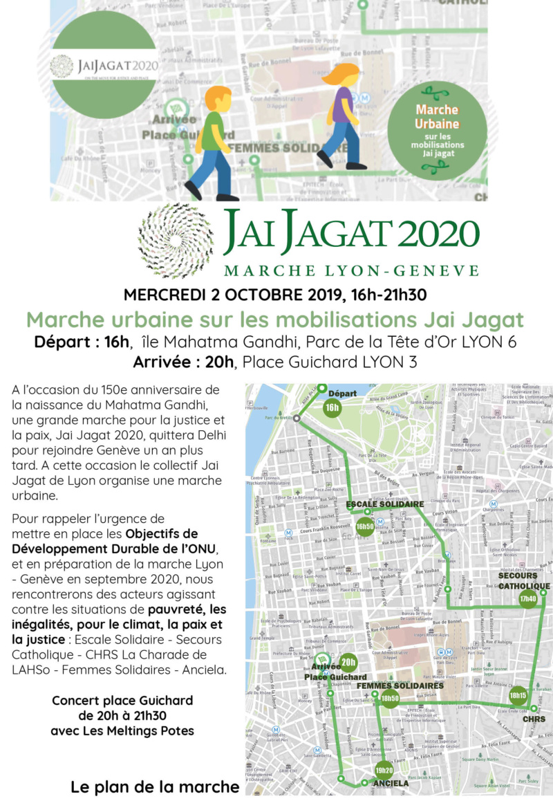 Marche Jai Jagat à Lyon le 2 octobre 2019 Flyer_10