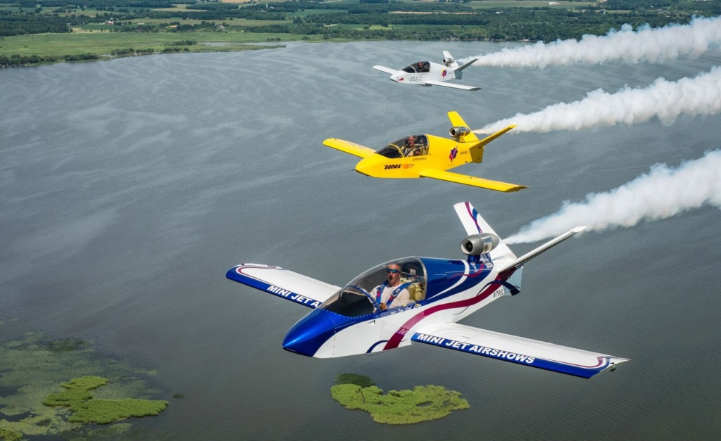 Les avions SubSonex en France / Europe