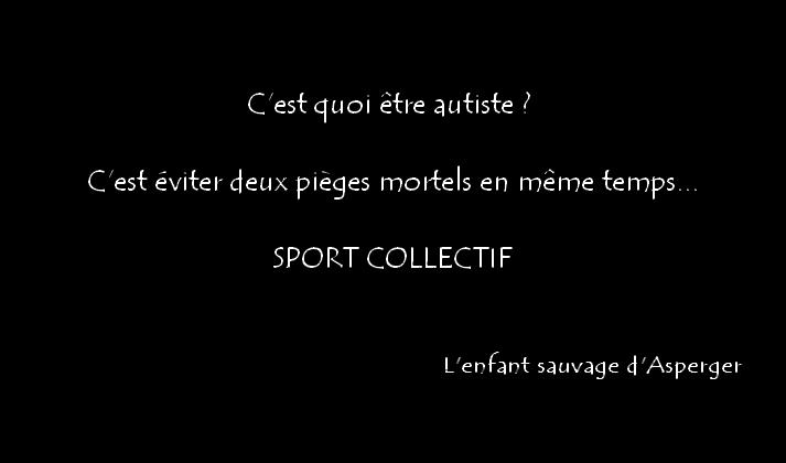 Humour d'autiste Sport10