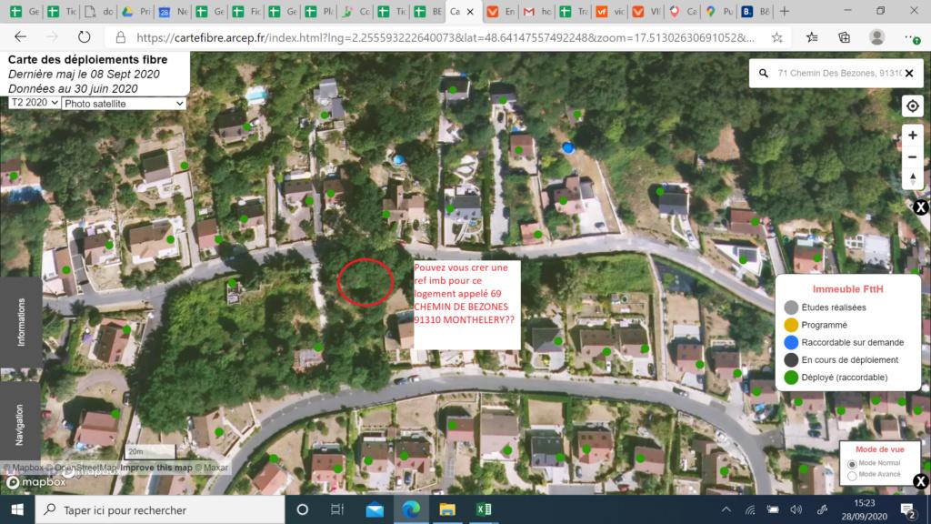 COVAGE:TUTOR EUROP' ESSONNE 69 CHEMIN DE BEZONES 91310 MONTHLERY (demande de création imb) 69bezo10