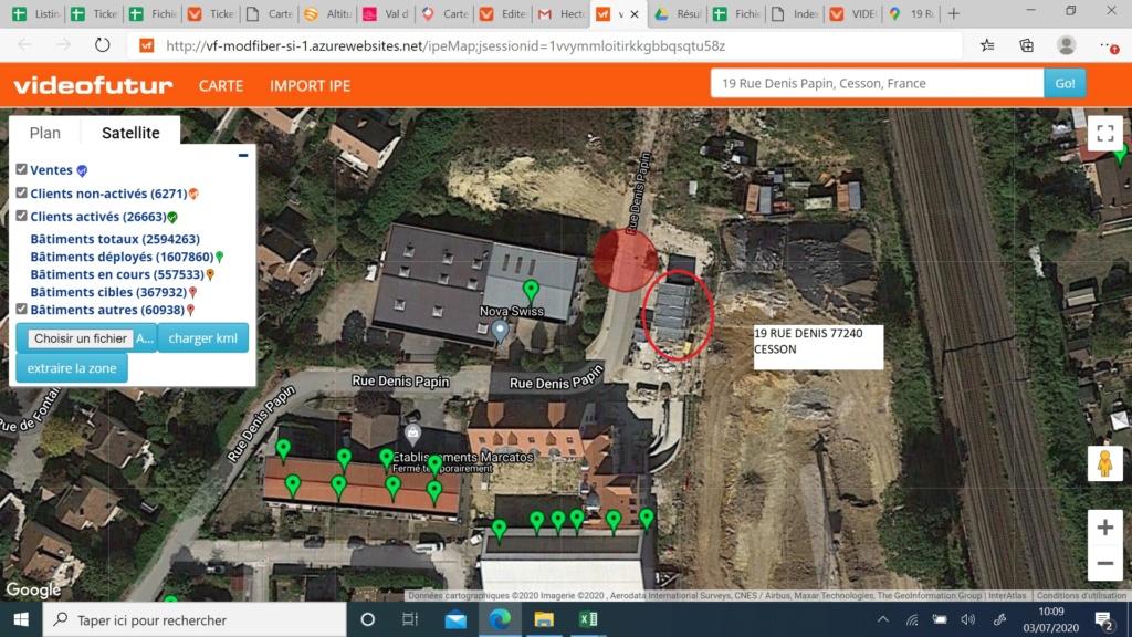 COVAGE:SMTH 19 RUE DENIS PAPIN 77240 CESSON ( demande de création IMB) Eleono10