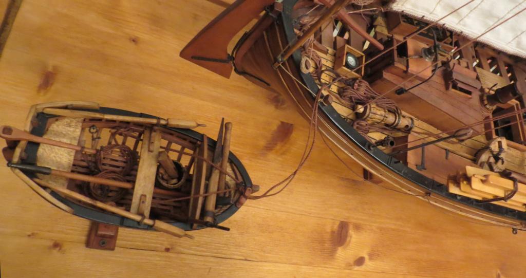 Corallina (paranzella) armata in guerra (pezzo in ferro da 18 libbre) - Marina Napoletana (flottiglia) 1811 - scala 1:24 - di Riccardo Mattera - Pagina 10 Img_4346