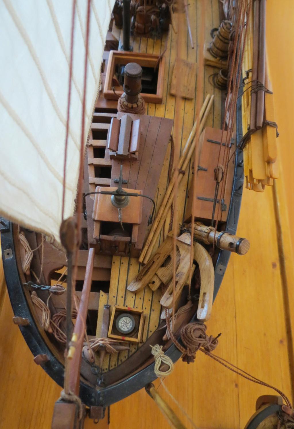Corallina (paranzella) armata in guerra (pezzo in ferro da 18 libbre) - Marina Napoletana (flottiglia) 1811 - scala 1:24 - di Riccardo Mattera - Pagina 10 Img_4427