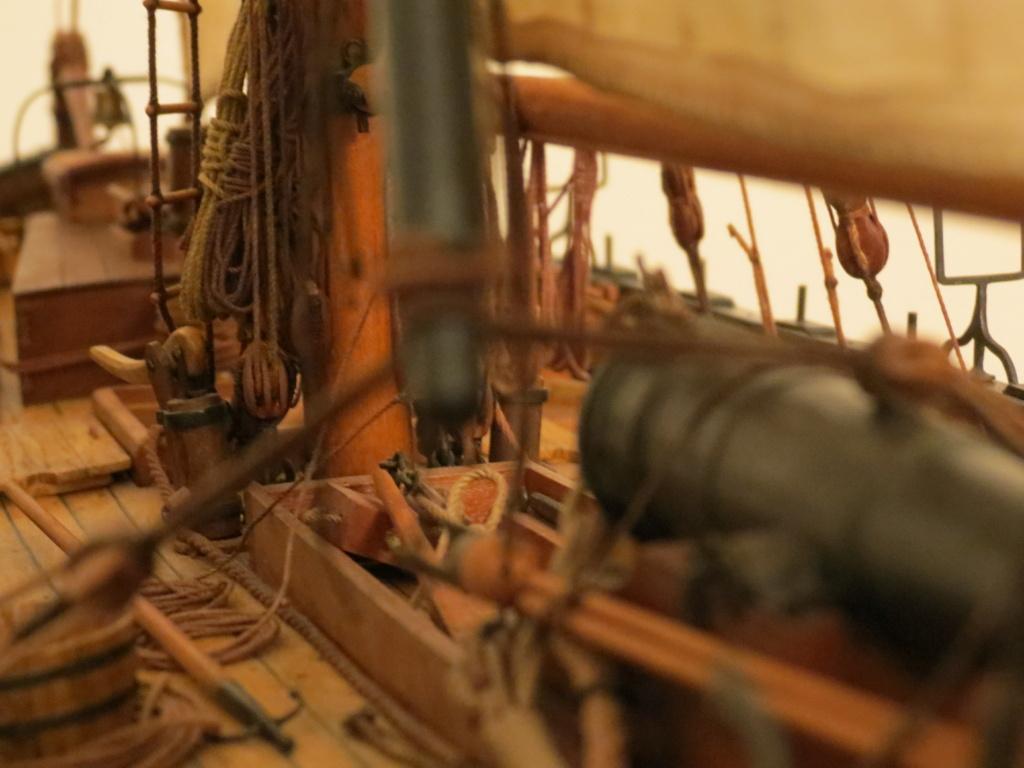 Corallina (paranzella) armata in guerra (pezzo in ferro da 18 libbre) - Marina Napoletana (flottiglia) 1811 - scala 1:24 - di Riccardo Mattera - Pagina 10 Img_4515