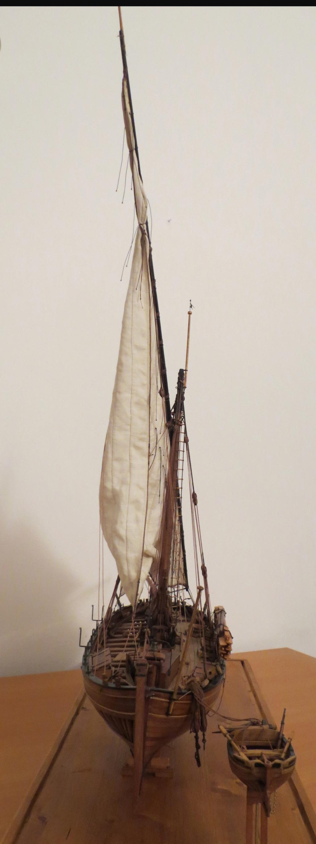 Corallina (paranzella) armata in guerra (pezzo in ferro da 18 libbre) - Marina Napoletana (flottiglia) 1811 - scala 1:24 - di Riccardo Mattera - Pagina 10 Img_4526