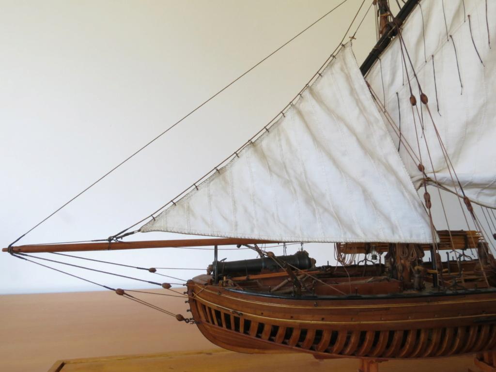 Corallina (paranzella) armata in guerra (pezzo in ferro da 18 libbre) - Marina Napoletana (flottiglia) 1811 - scala 1:24 - di Riccardo Mattera - Pagina 10 Img_4545