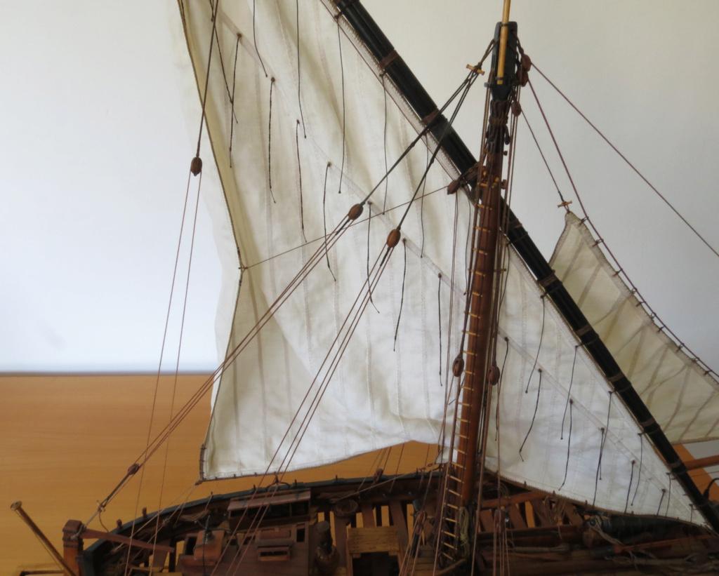Corallina (paranzella) armata in guerra (pezzo in ferro da 18 libbre) - Marina Napoletana (flottiglia) 1811 - scala 1:24 - di Riccardo Mattera - Pagina 10 Img_4550
