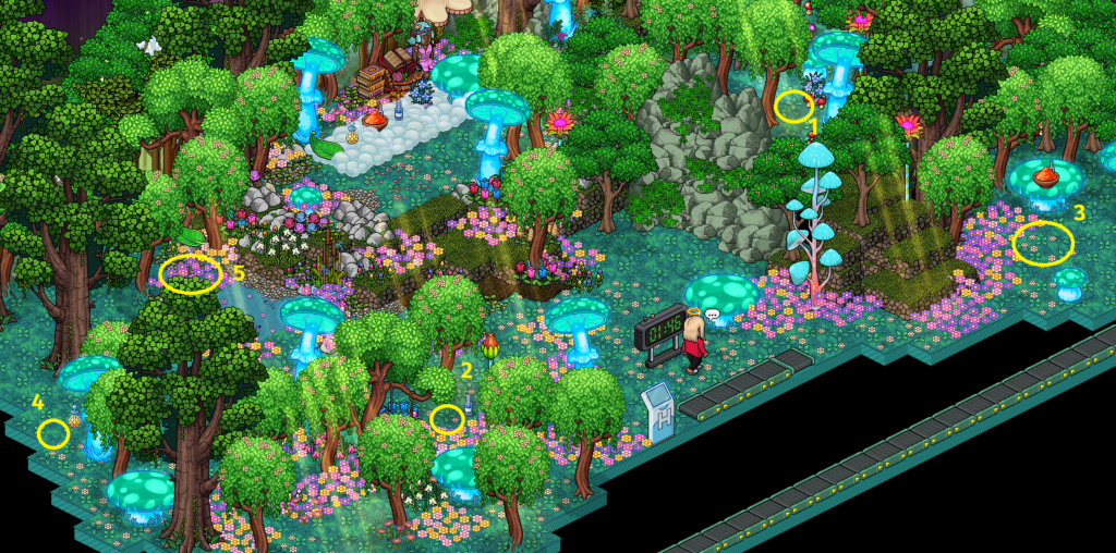 Soluzione gioco Foresta di Funghi Fo5u6y10