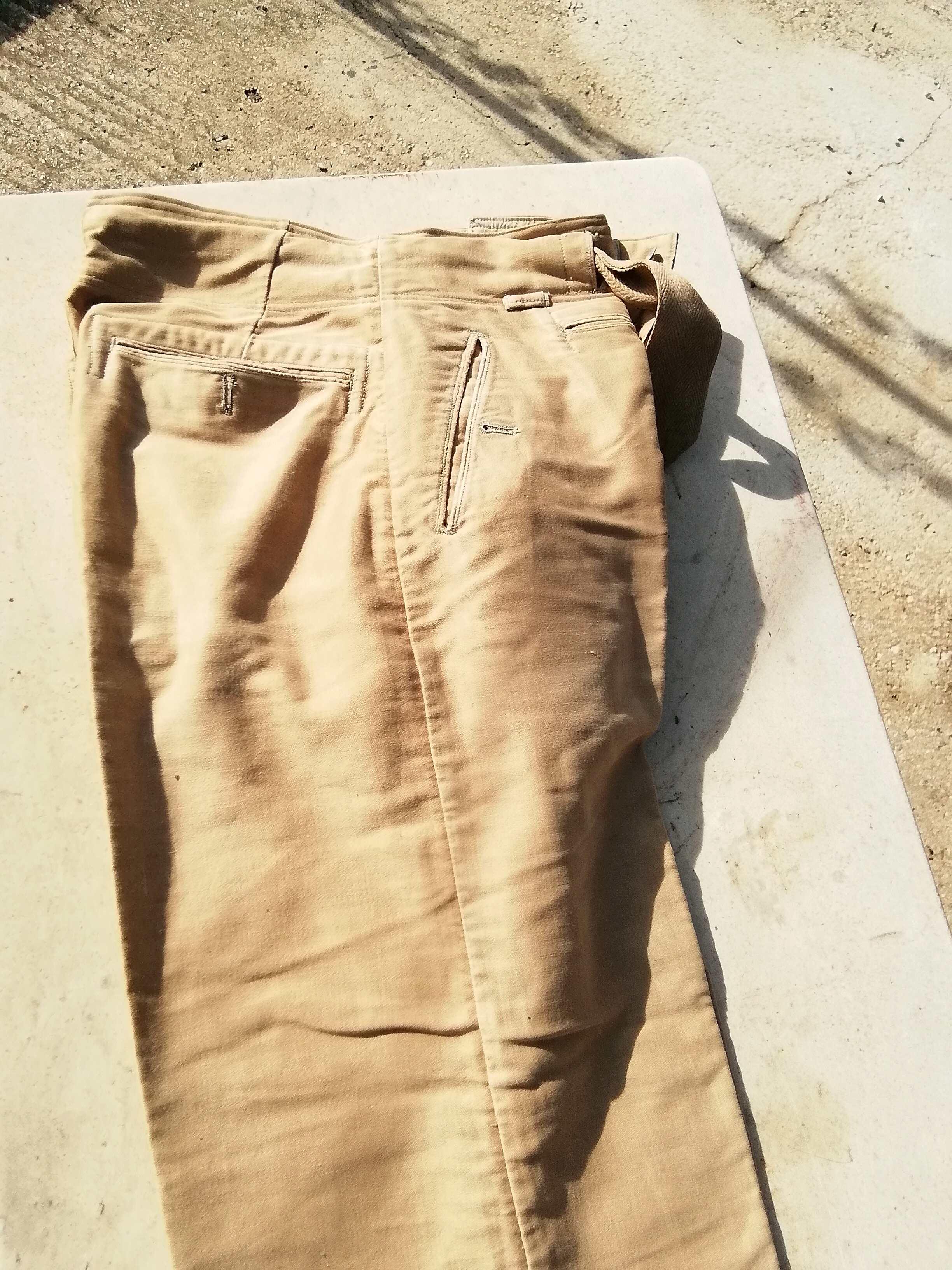 Pantalon droit AK troupe daté 1941 Img_1459