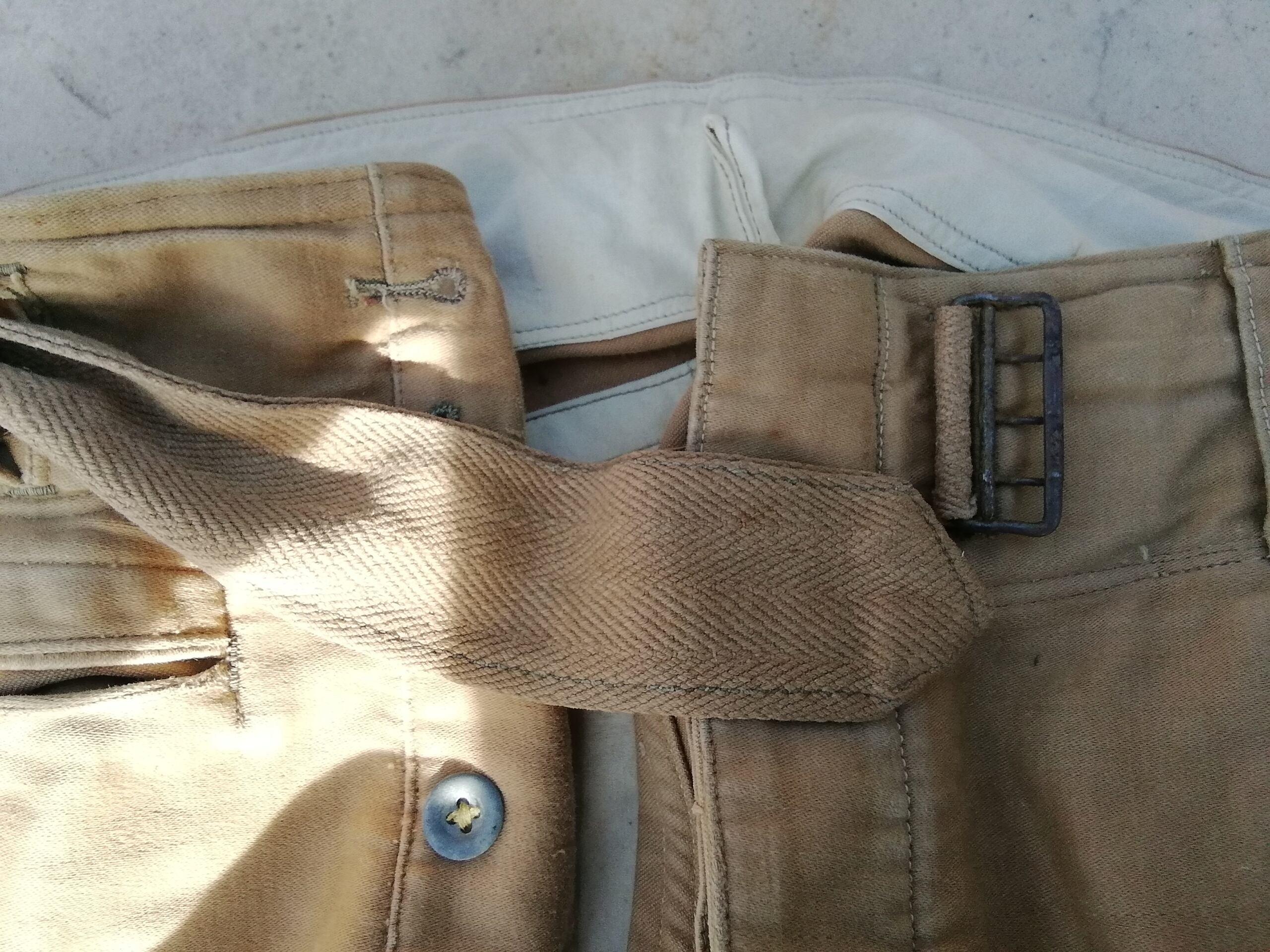 Pantalon droit AK troupe daté 1941 Img_1460