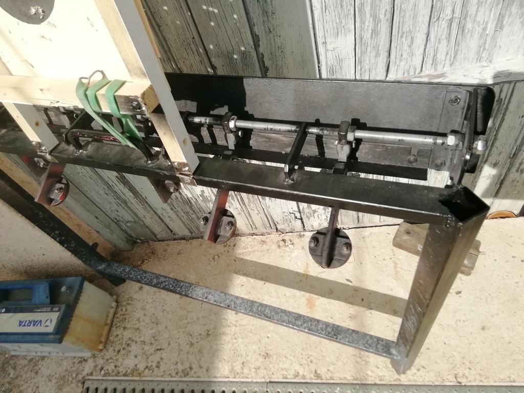 Ciblerie métallique automatique pour du 22LR  Img_2483