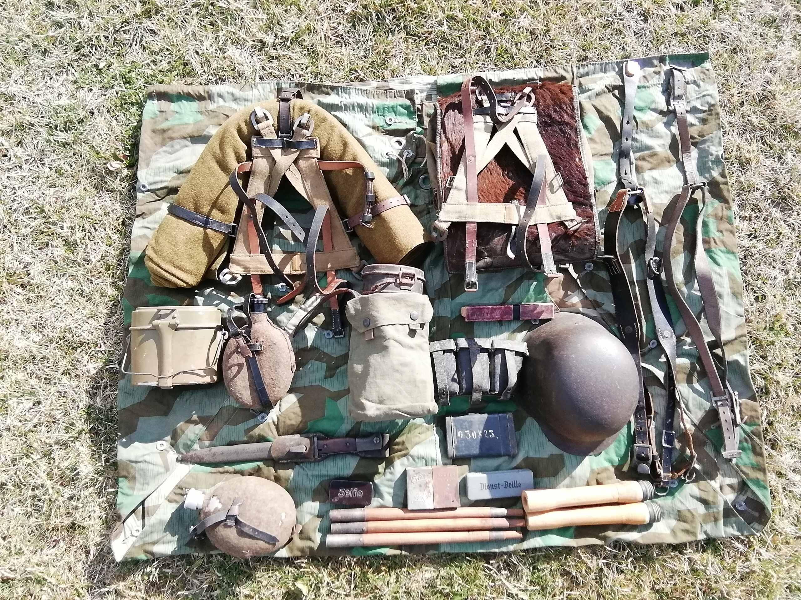 Équipements de mon fantassin de la wehrmacht  Img_2805