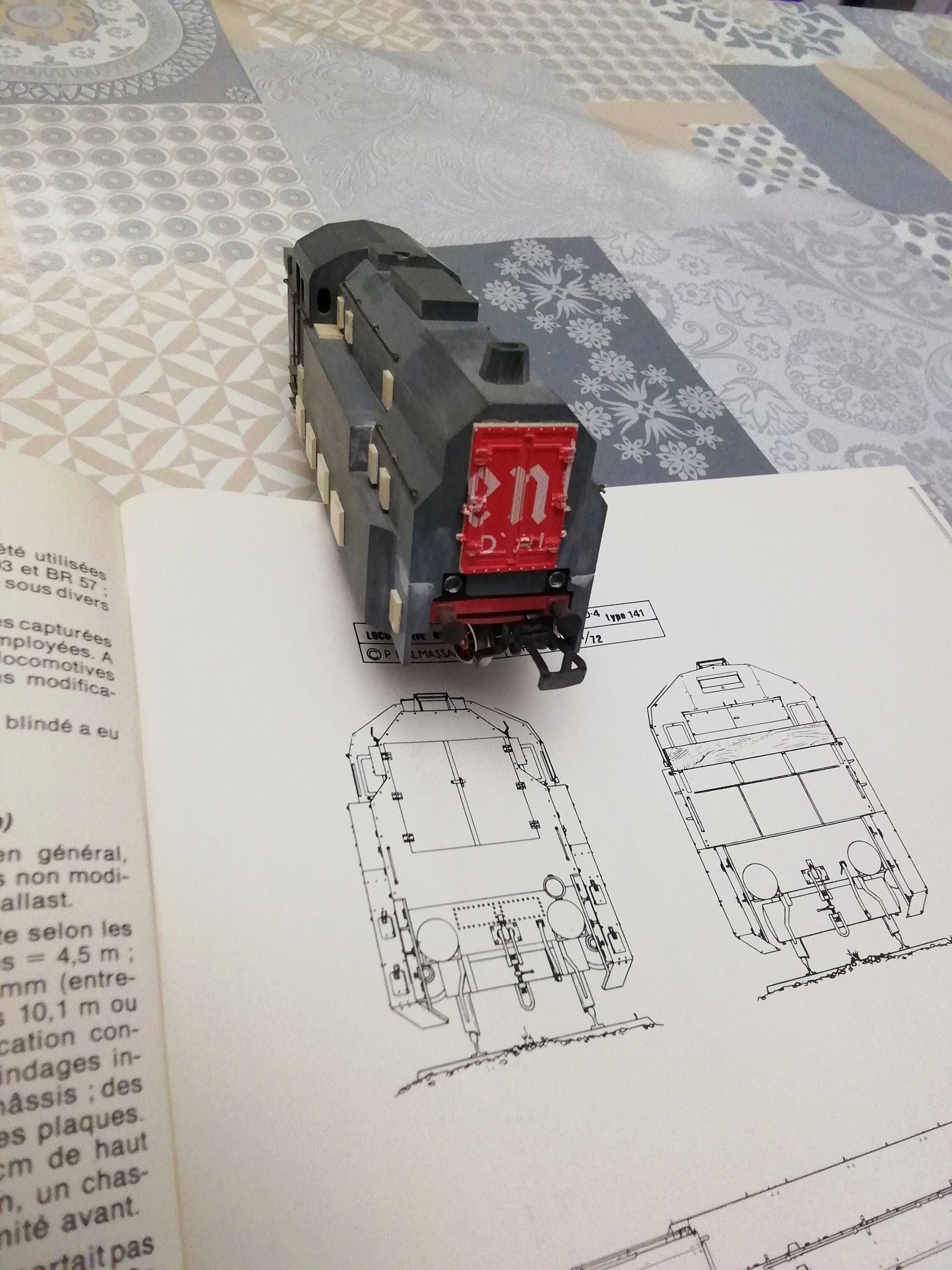 Panzerzug BP 32 en vrai et en scratch. Img_2988