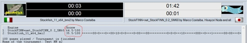 My first test with StockFiNN_0.2 is ready ! Clipbo33
