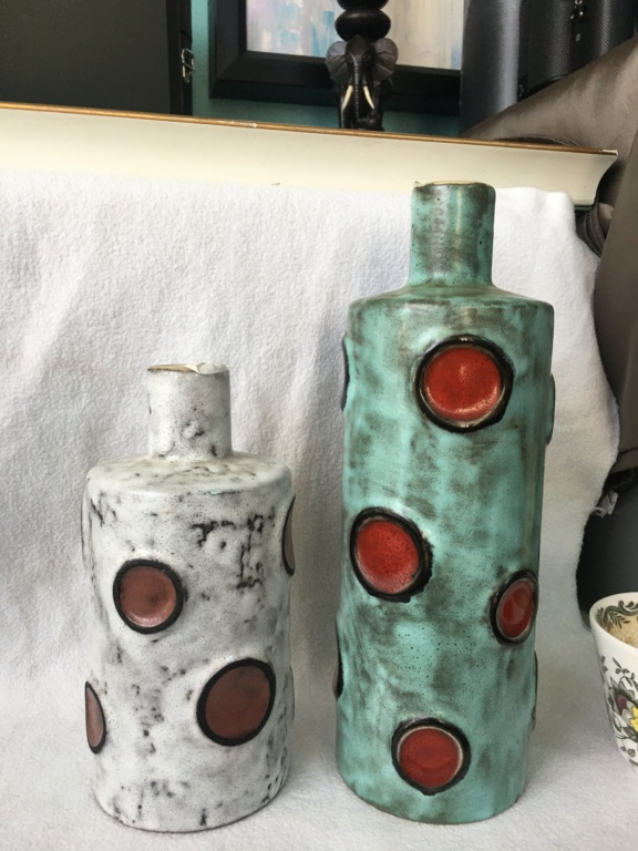 Large Polka Dot Vases Identificatio Never seen before 9c028210