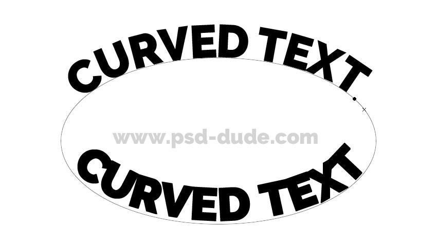 How to curve text in Photoshop? How-to12
