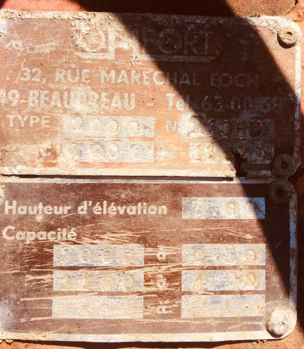 Projet de rénovation élévateur OMFORT 2000 de 1970 Photo_14