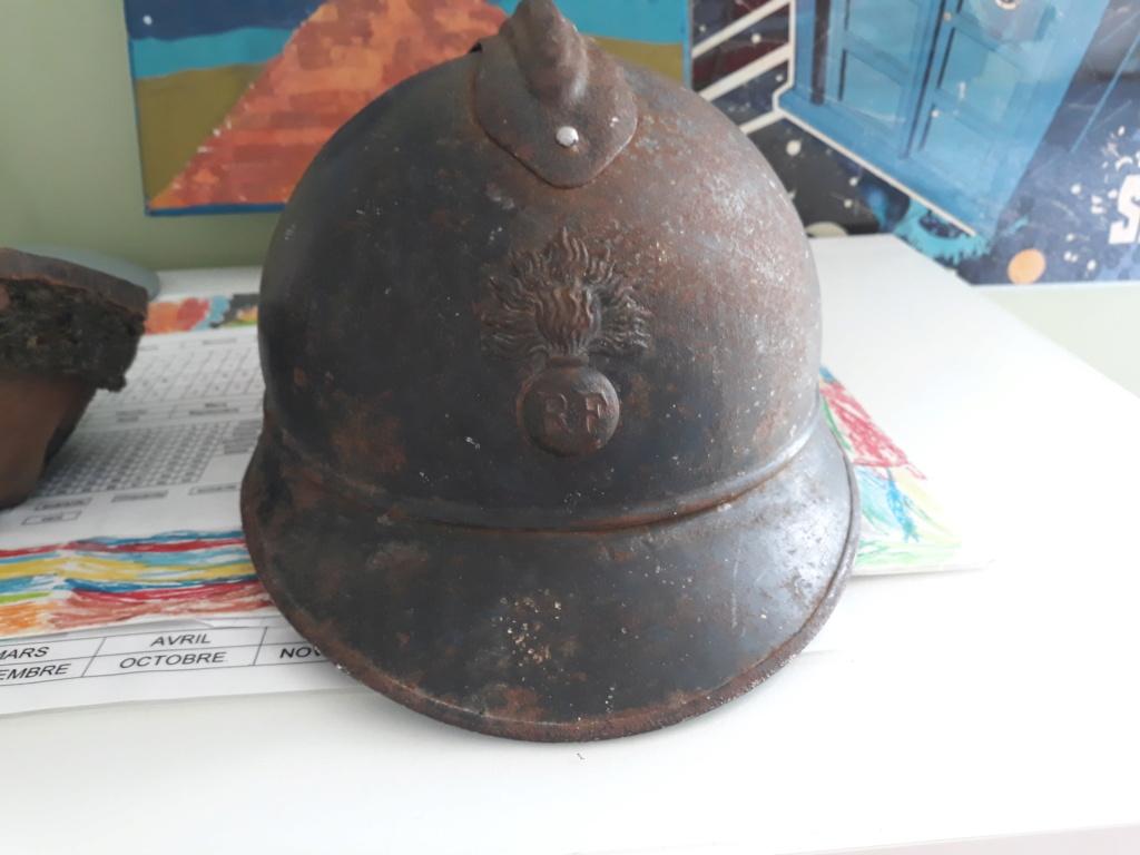 Restauration casque adrian ml15 20200710