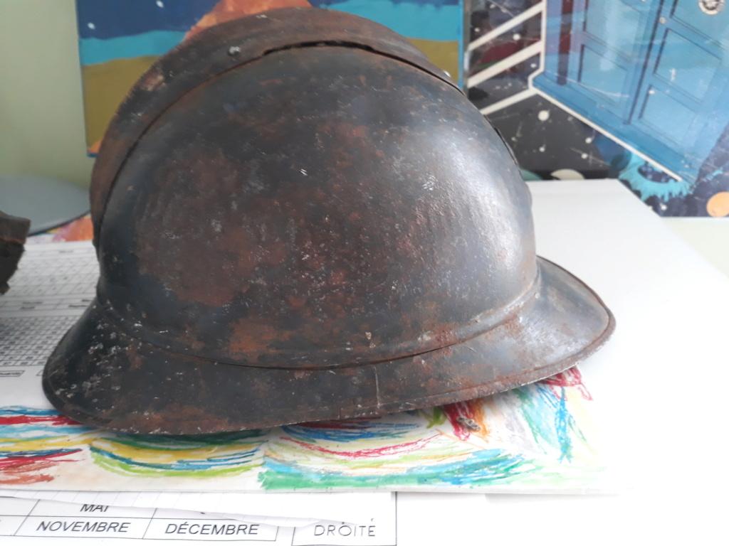 Restauration casque adrian ml15 20200711