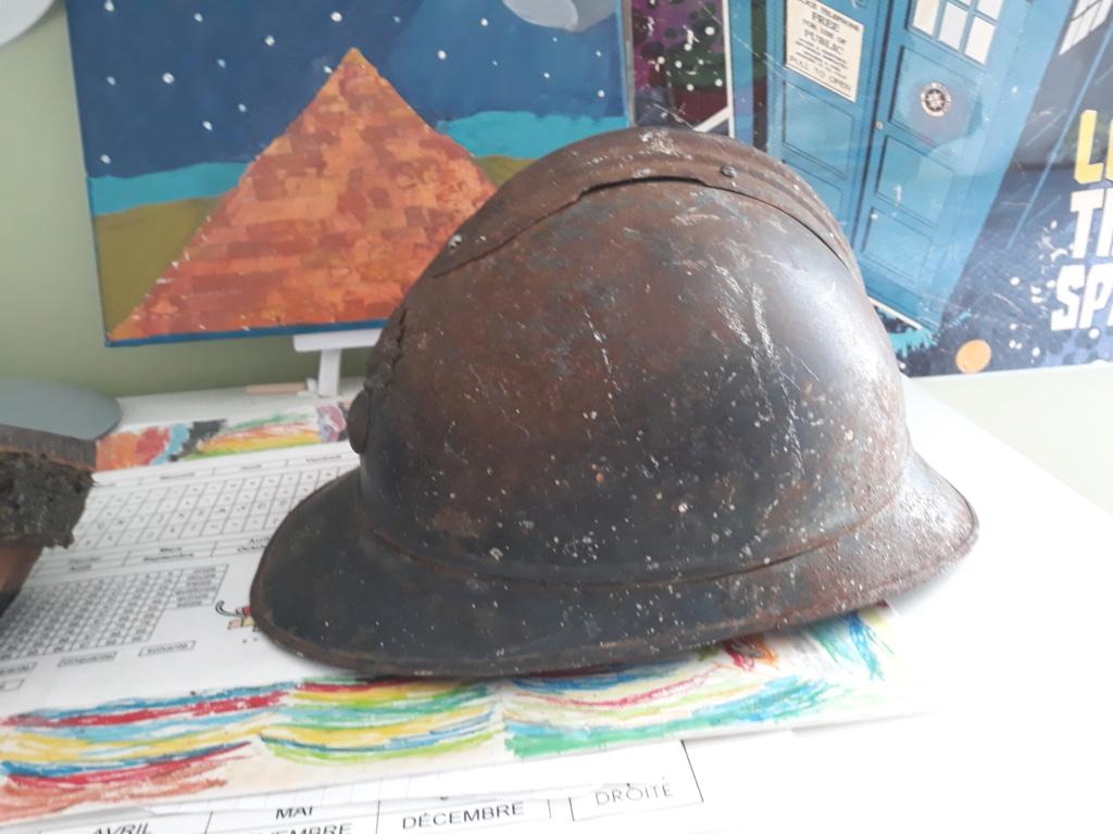 Restauration casque adrian ml15 20200712