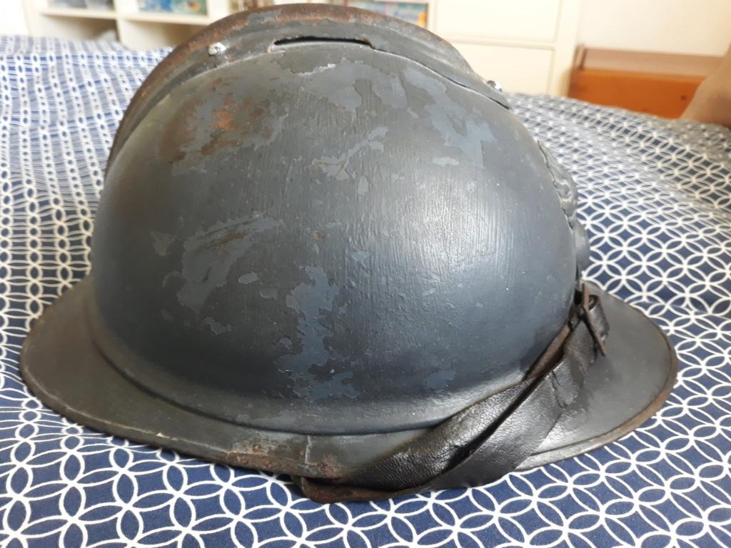 Restauration casque adrian ml15 20200719