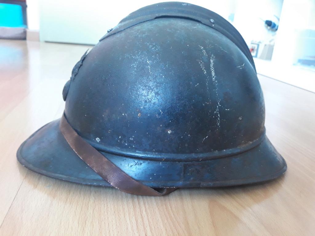 Restauration casque adrian ml15 20200915