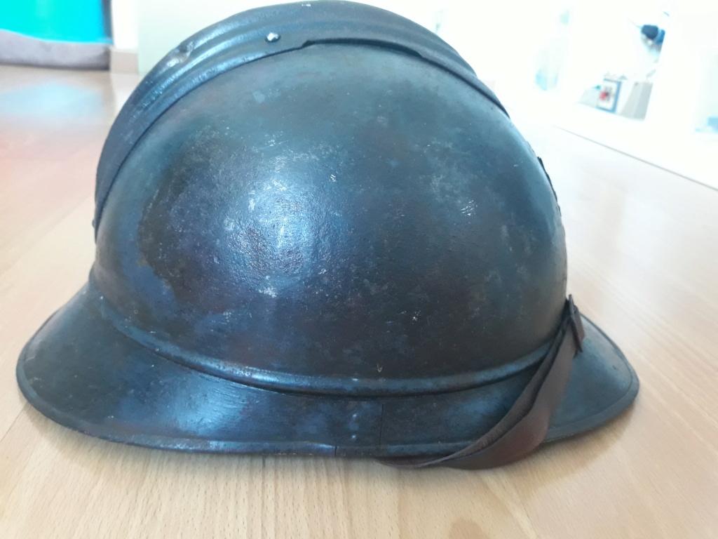 Restauration casque adrian ml15 20200917