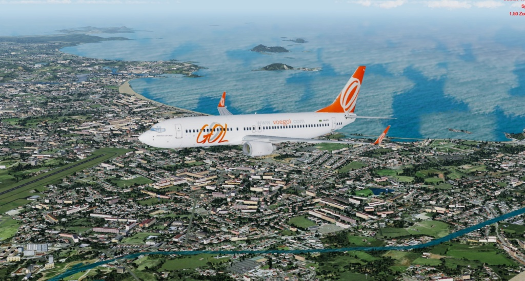 Cabo Frio/Rio de Janeiro no GOL 737 800 110