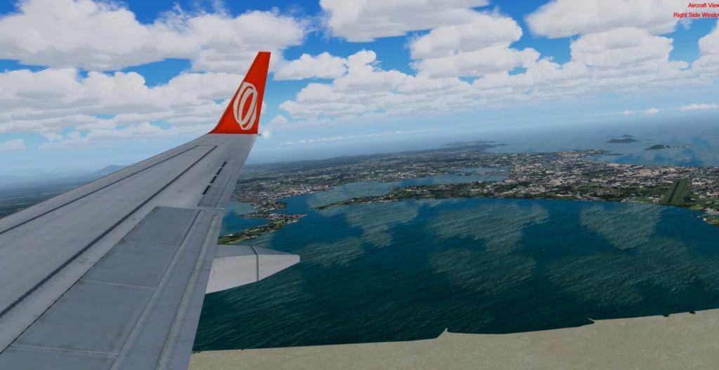 Cabo Frio/Rio de Janeiro no GOL 737 800 1ww10