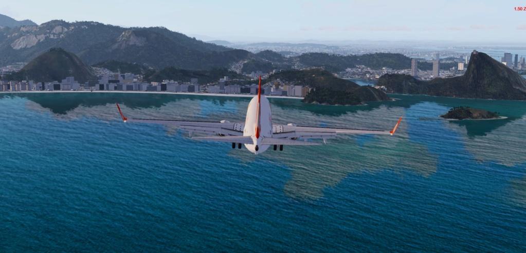 Cabo Frio/Rio de Janeiro no GOL 737 800 Dddd10
