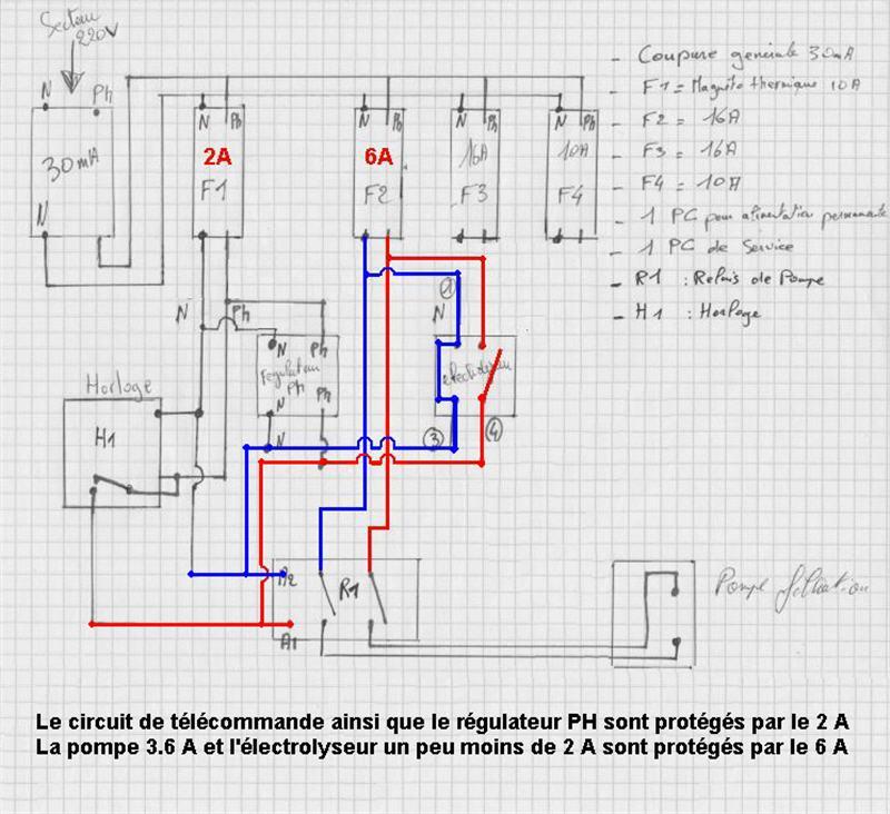 Rajout d'un coffret gelelec sur installation existante Cablag12