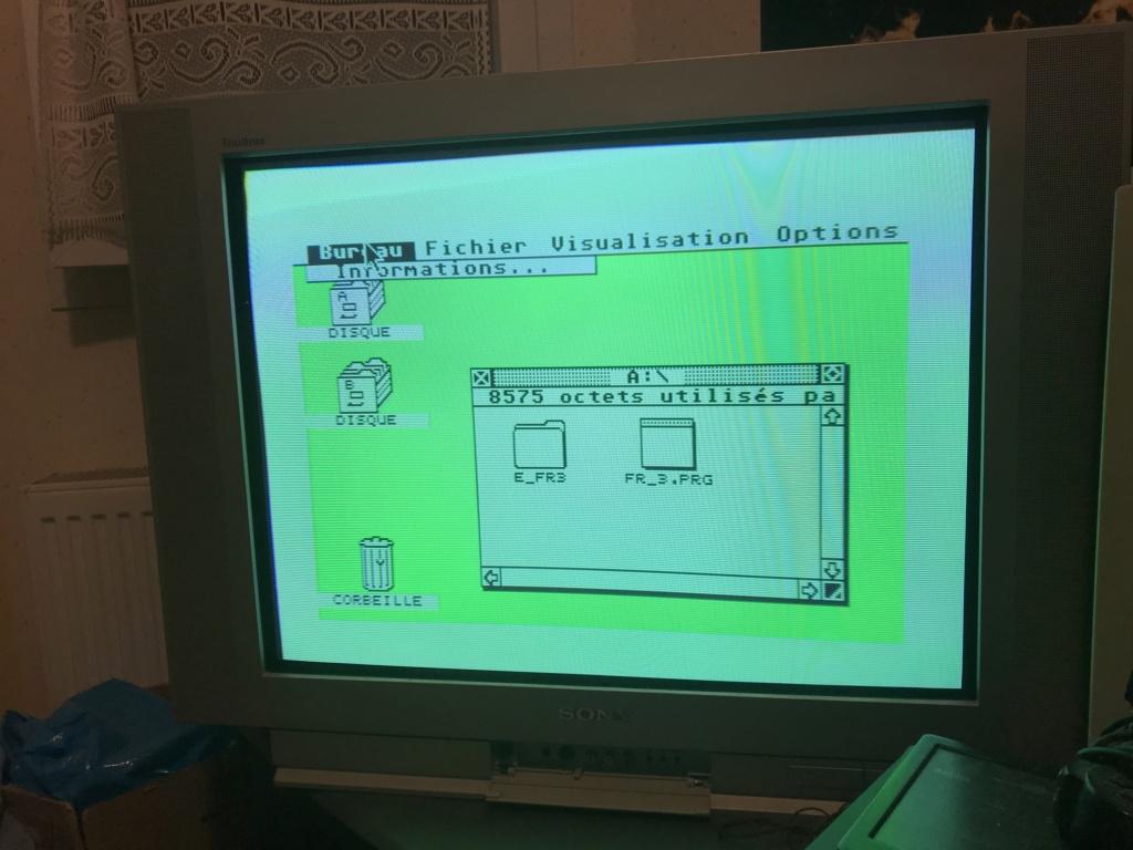 Problème affichage Atari STe  Img_0410
