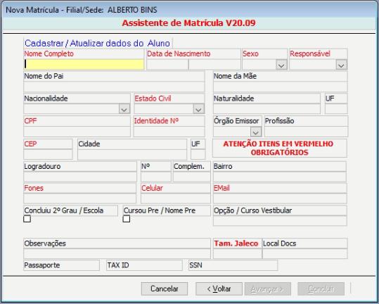 [Resolvido]Formulário para múltiplas tabelas Assist12