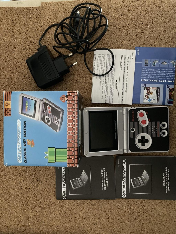 [EST] Lot jeu + console GBA SP Nes classics Img_0816