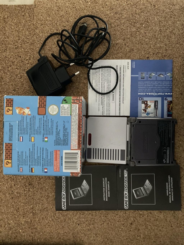 [EST] Lot jeu + console GBA SP Nes classics Img_0817