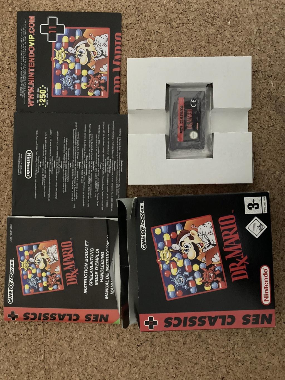 [EST] Lot jeu + console GBA SP Nes classics Img_0818