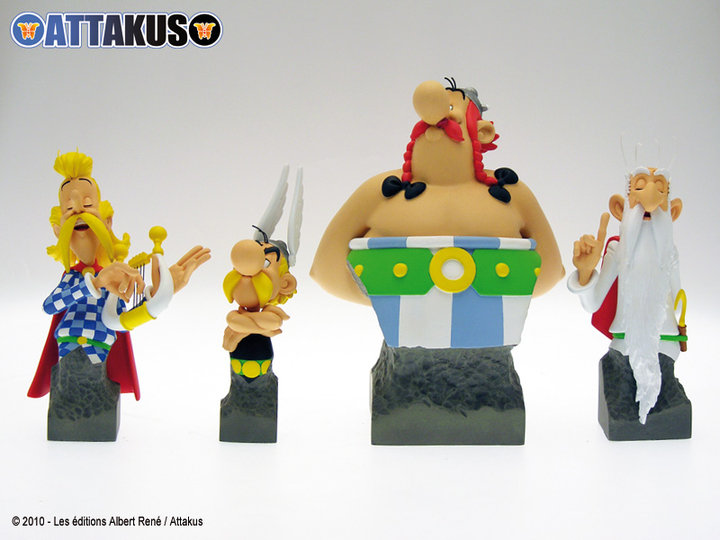 Bustes Attakus Astérix 40937410