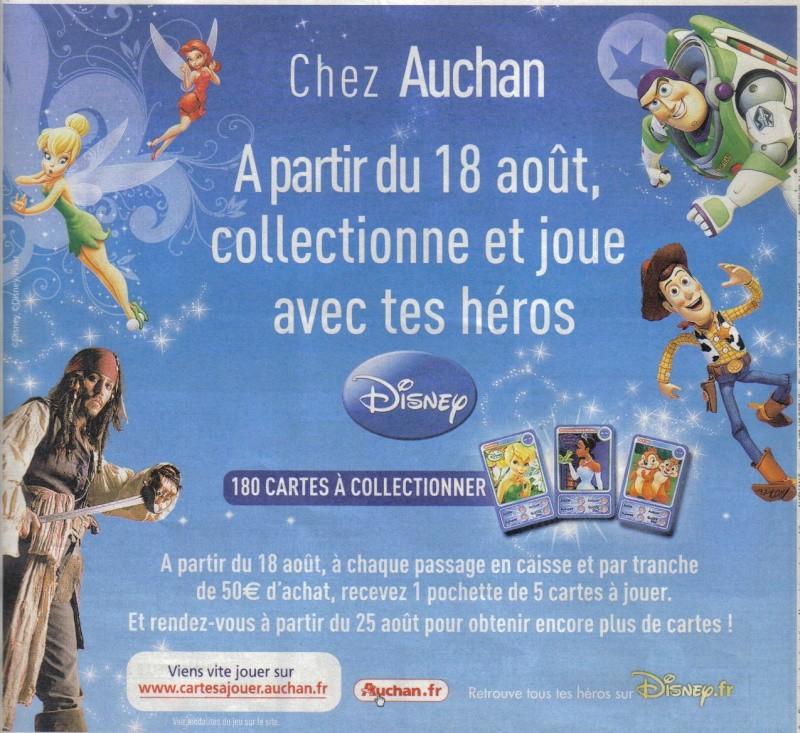 Cartes Disney à collectionner P10