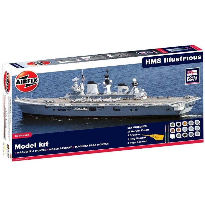 -50% sur le HMS Illustrious Airfix au 350 eme 71vds310