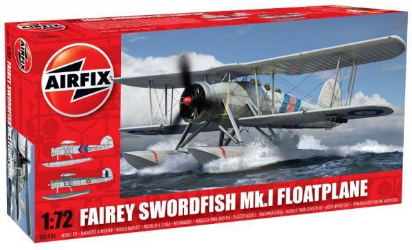 """le swordfish Airfix..............""""avé"""" des flotteurs !!!!! A0500610"""