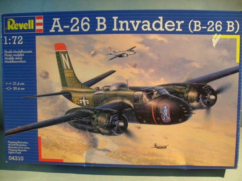 Multi-présentations ITALERI DOUGLAS A 26 C / K INVADER 1/72ème Réf 1259 & 1249 et REVELL DOUGLAS A 26B INVADER 1/72ème Réf 04310 S7300897