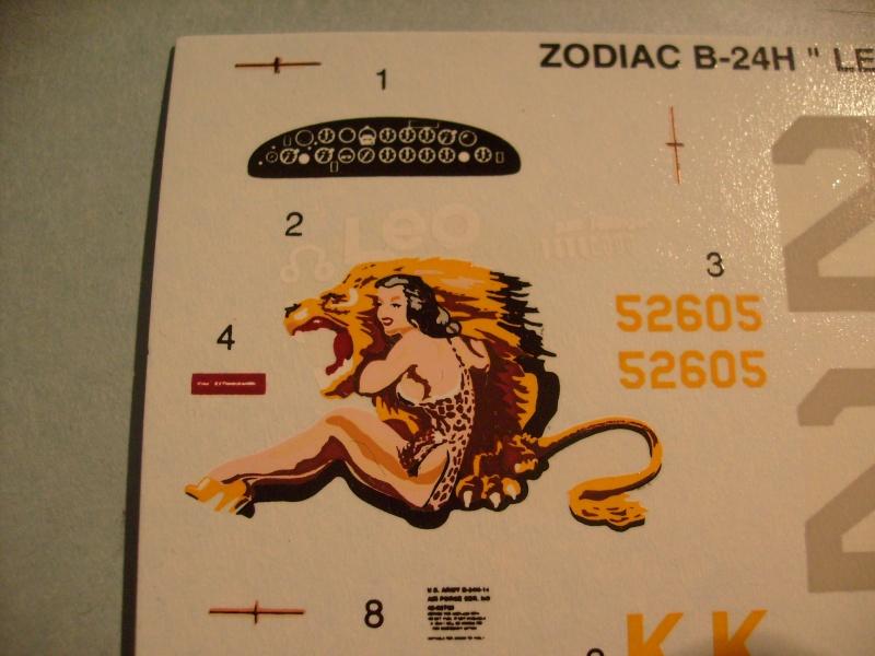 "[ACADEMY] CONSOLIDATED B 24 H LIBERATOR Edition limité zodiac ""LEO"" 1/72ème Réf 2172 S7300910"