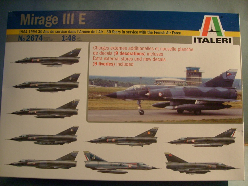 Multi-présentations ESCI/ITALERI quelques  MIRAGE III, F1 et KFIR au 48ème S7300918