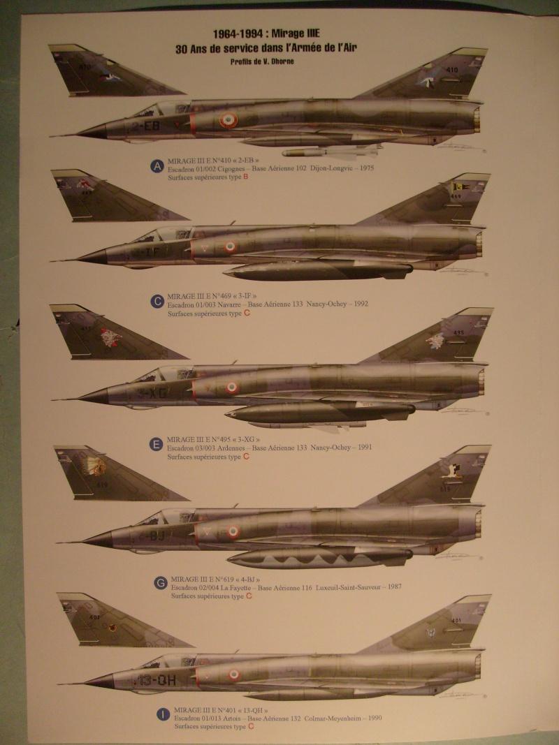 Multi-présentations ESCI/ITALERI quelques  MIRAGE III, F1 et KFIR au 48ème S7300920
