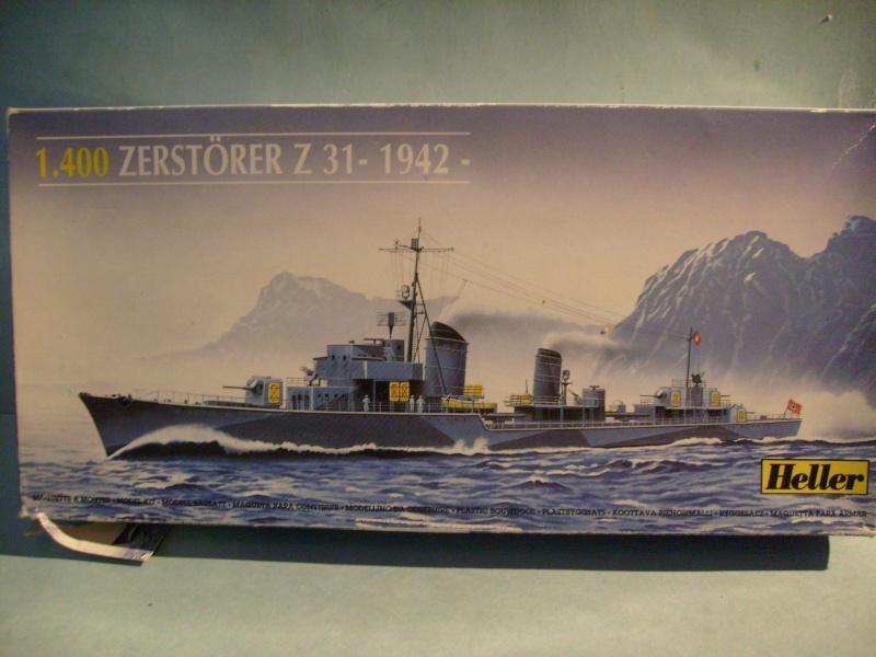 [Heller]Zerstorer Z 31 1942  400eme S7301014